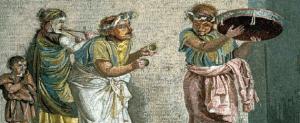 il vino e la musica nell'antica roma